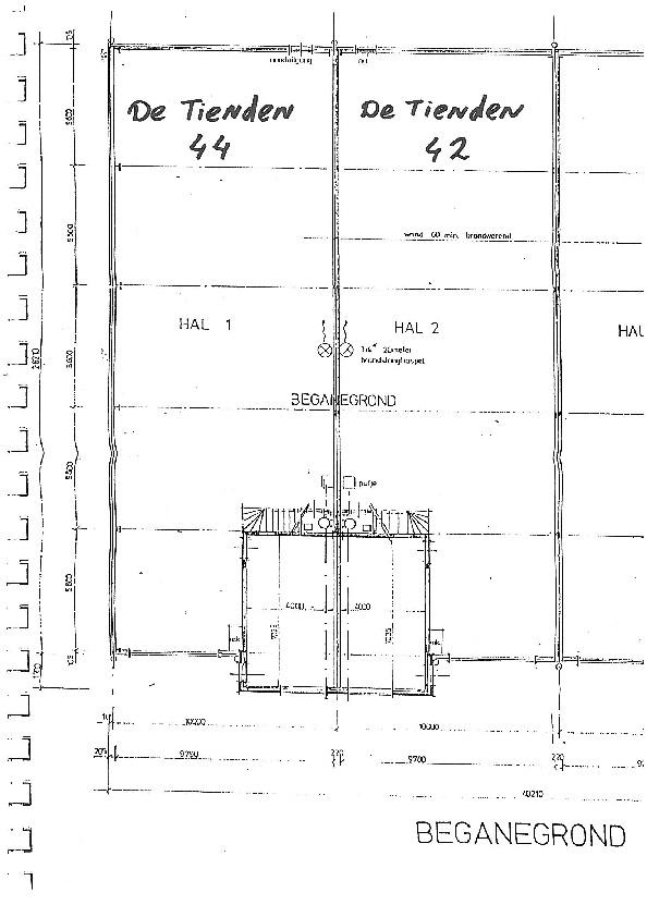 plattegrond 42 en 44