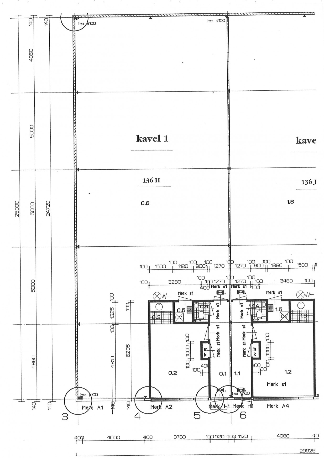 plattegrond 136 H